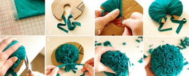 What is in a pompom anyway?